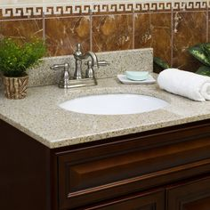 Bathroom vanity tops granite
