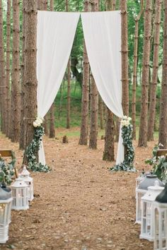 Want to make a grand entrance Make the perfect outdoor entryway with long drapes hanging for your big 100 Beautiful Outdoor Wedding Ceremonies DIY Wedding Ideas Rustic Wedding Decorations Elegant Wedding Decor on a Budget Wedding Tips, Wedding Planning, Dream Wedding, Perfect Wedding, Diy Wedding Hacks, Cheap Wedding Ideas, Spring Wedding, Wedding Decorating Hacks, Wedding Dress