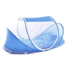 BABY TRAVEL BED WITH MOSQUITO NET