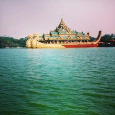 Yangon in Myanmar. On the blog now:-) www.misswanderlusty.com Yangon, Opera House, Around The Worlds, Building, Blog, Travel, Viajes, Buildings, Blogging