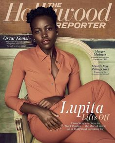 Lupita Nyong'o for The Hollywood Reporter - 25th January 2018