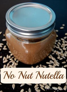 Homemade, nut-free n