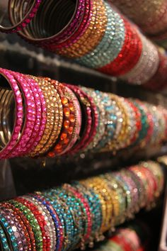 The colors of India.