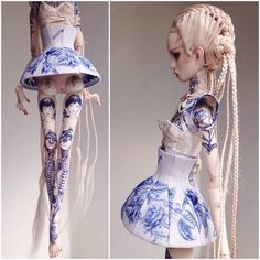 Twin sisters Ekaterina and Elena Popovy have been meticulously crafting conceptual dolls for the past decade. Their art's combination of high fashion...