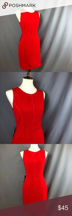 "The Limited Classic Red Dress 💕 Get ready for Valentine's Day ladies 😘 Here's the perfect red dress for the occasion.  Brand new with tags, no defects. Classic million dollar red color. Gold rear zipper Size 4 Measurements approx: (Laying flat-measured straight across) Bust 17.5"" Waist 14.5"" Hips 19"" Length 36""  Feel free to ask any questions The Limited Dresses Midi"
