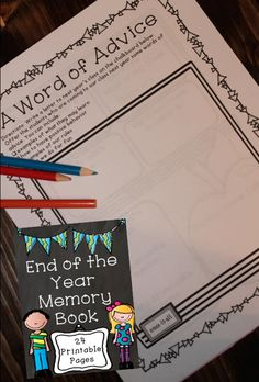 end of year memory book end of the year ideas on end of year end of 6533