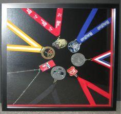 Framed medals!