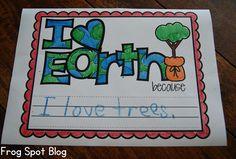 Earth Day Writing Freebie