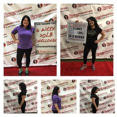 Excited and motivated for challenge #2!  26.4 in 6 weeks! So thankful for the amazing staff, trainers, and people that have been apart of this amazing journey! - Debbie