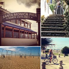 Bike or join the locals for a run at Santa Monica Pier. Stop off at Muscle Beach (just south of the pier) for a back-to-basics workout in the gymnastics training area. If it's a stretch you're needing, hit up Exhale Mind Body Spa (101 Wilshire Blvd). No visit to the area is quite complete without a visit up and down the Santa Monica stairs (4th St. and Adelaide Dr.)!