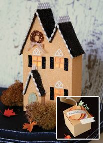 free templates for different styles of Victoria magazine's Harvest House and such stunning examples of them here by Linda Albrecht http://lindaalbrecht.typepad.com/simple_things/2010/12/its-beginning-to-look-a-lot-like-christmas-giveaway.html