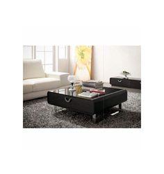 Table Basse ARAGONA, brun – Table Basse Design - Décoration séjour