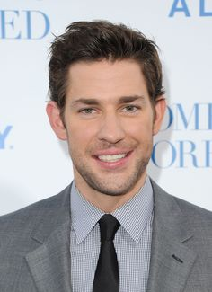 When his facial hair game was pretty much always perfect. | 34 Times John Krasinski Was The Most Perfect Man Alive