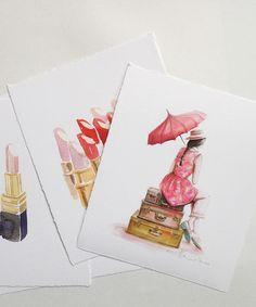 fashion illustration and possible tattoo inspiration