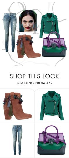 """""""kiki"""" by bebi3504 on Polyvore featuring Strategia, Boohoo, Yves Saint Laurent and Versace"""