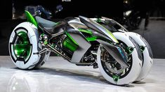 Kawasaki J Three Wheeler EV...amazing!