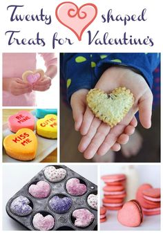 Check out these sweet heart shaped treats for the ones you love!