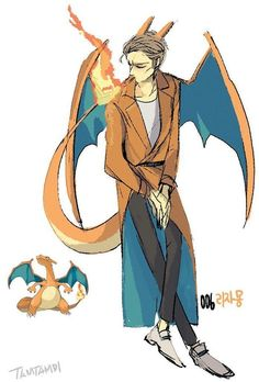 Anime Drawing 38 Incredible drawings of Pokemon re-imagined as humans! Great photos of Pokemon drawings that brings the Pokemon characters to life! I love this cute anime drawing of the Pokemon character Charizard Pokemon Go, Pokemon Fan Art, Fotos Do Pokemon, Pokemon Photo, Pokemon People, Cute Pokemon, Pokemon Anime Characters, Pokemon Manga, Pokemon Fusion