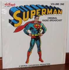 First Superman, Superman Comic, Batman, Radios, Carl's Jr, Vinyl Record Collection, Vintage Vinyl Records, Vintage Comics, Album Covers