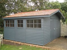 Georgian Style Garden Shed At Crane Sheds And Summerhouses We