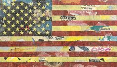 Greg Gossel, 'American Flag (Red, Yellow, Black),' 2010, Julien's Auctions: Street Art Now February 2016