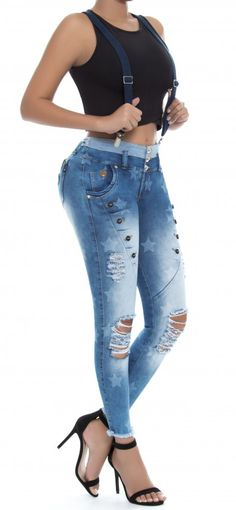 Jeans levanta cola REVEL 56167