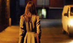 Resultado de imagem para woman walking night street