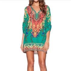 2016 Fashion Women Vintage Ethnic Dress Brand Baroque Style Floral Print Casual Beach Mini Dress Boho Summer Dresses Vestidos