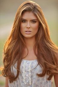 golden brown hair - for fall
