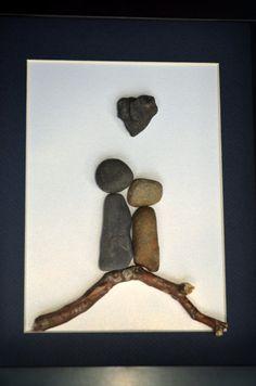 The driftwood pebble kiss!!