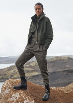 Kalhoty -- | MANGO
