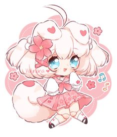 Merinori Traits by Valyriana on DeviantArt Chibi Kawaii, Cute Anime Chibi, Cute Anime Pics, Kawaii Art, Kawaii Anime Girl, Anime Art Girl, Chibi Characters, Cute Characters, Cute Anime Character