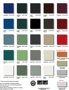 Best Metal Roofs Color Chart Metal Roof Color Chart From 640 x 480