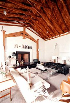 converted a church into a family home