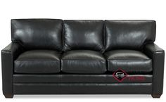 Palo Alto Queen Leather Sleeper Sofa by Savvy. A beautiful piece with exquisite detail. Red Leather Couches, Leather Sofa Bed, Down Feather, Sleeper Sofa, Custom Leather, Cushions, Stationary, Fabric, Queen
