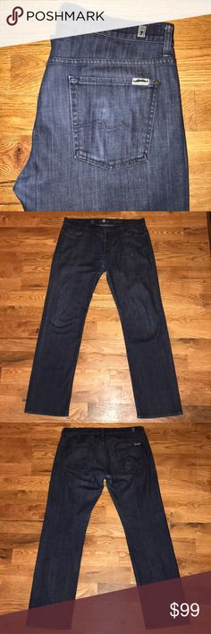 7 For All Mankind Special Edition Movember Jeans Excellent Condition. Standard Fit. 36 x 34. Small Tear Left Front Pocket As Pictured. 7 For All Mankind Jeans Straight