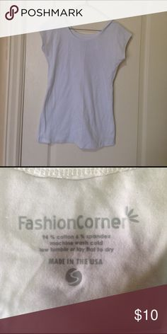 Cotton/Spandex Top Cotton/Spandex Top, BRAND NEW! Fashion Corner Tops Tees - Short Sleeve