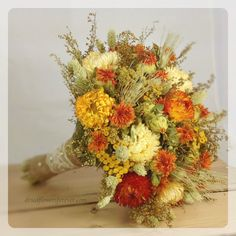 Purchase- Orange Prairie Sunset Collection  Dried