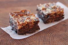 Mint chocolate Girl Guide cookie hello dolly squares