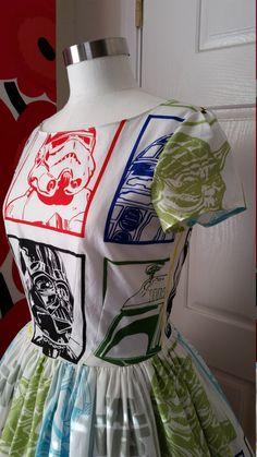 Star Wars Sleeves Dress - Star Wars Gift for her #starwars #dress #gift