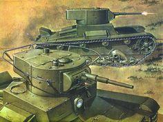 T-26. Impresión artística.