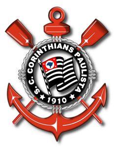 Escudo do Corinthians, imagem no formato SVG, vetor que pode ser edita no Inkscape ou no Corel Draw.