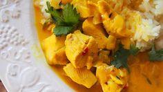 Jos pidät koriaterista, tarjoa curry sen kera. Jos korianteri ei maistu, vaihda se persiljaan.