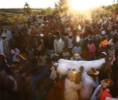 Dancing with the Dead - Believe it or not, the Malagasy of Madagascar take out the dead from the graves and jive with them. The belief behind this ritual called Fam...