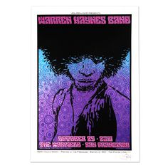 Warren Haynes Band Oct 29 2011 The Warfield San Fransicso Event Poster