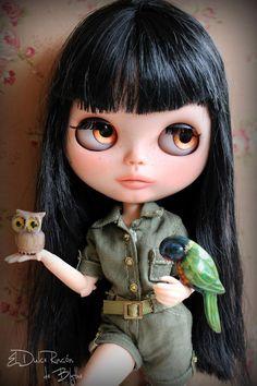 Mono safari para Blythe