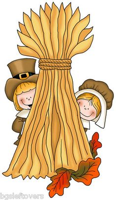 Pilgrim with Haystack Thanksgiving Pictures, Thanksgiving Art, Thanksgiving Drawings, Thanksgiving Decorations, Fall Clip Art, Halloween Clipart, Cute Clipart, Scrapbook Embellishments, Feltro
