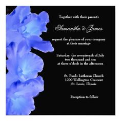 ShoppingLovely Blue Orchid Wedding Invitationonline after you search a lot for where to buy