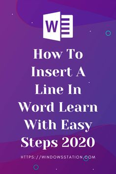 Do you know how to insert a line in word? If not then there you will learn how to insert a horizontal line in word and how to insert a vertical line in word.