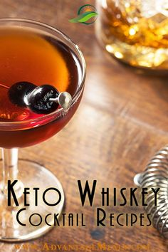 A discussion about whiskey on a keto diet plus 5 of my favorite Keto Whiskey Drinks. | Keto Cocktails | Keto Drinks | Keto Alcohol Drinks to Order | Alcohol on Keto Diet | Best Alcohol for Keto Diet | Keto Diet Alcohol Guide | Keto Cocktails, Whiskey Cocktails, Cocktail Recipes, Keto Diet Alcohol, Diet Coffee, Best Alcohol, Keto Holiday, Keto Drink, Alcohol Recipes